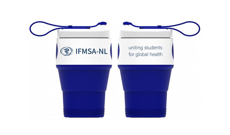 IFMSA-NL Inklapbare koffiebeker